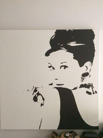 Obraz ikea Audrey Hepburn