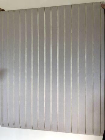 Стильные в полоску обои полосатые метровые