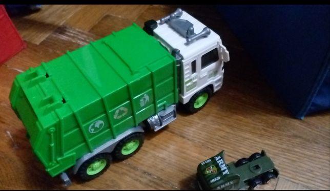 Мусоровоз машинка машина мусоровоз