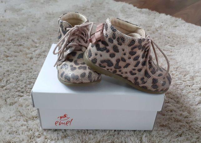 Buty emel dla dziewczynki, roczki r.21