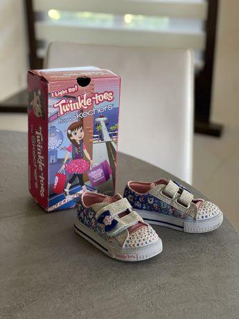 Кеди туфлі SKECHERS 8 розмір