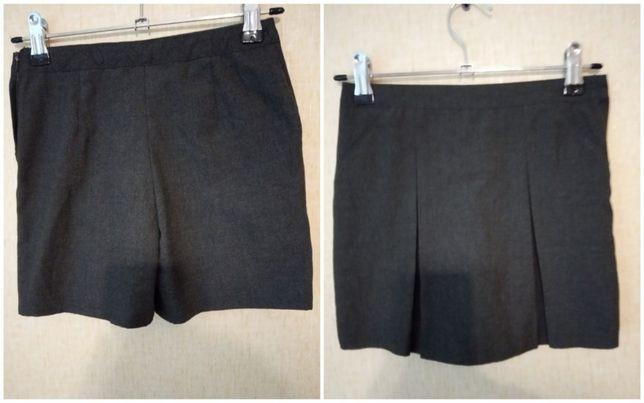 Школьная форма юбка шорты george 6-8 лет