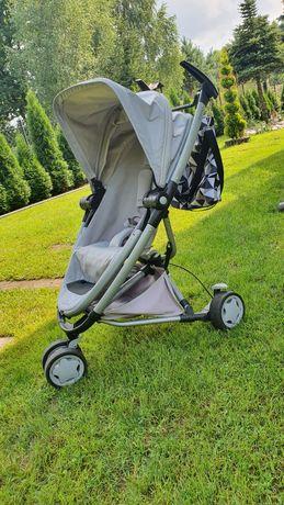 Wózek spacerówka typu parasolka akcesoria quinny xtra 2 grey gravel