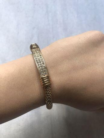 Złota bransoletka z brylancikami Bijou Brigitte