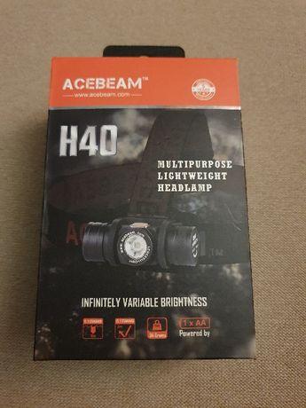 Latarka czołowa Acebeam H40- 1050 lumenów