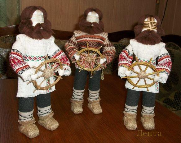 Кукла мотанка Спиридон -Солнцеворот. Подарок, национальный сувенир.