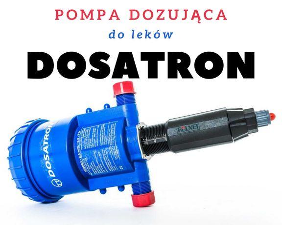 Dosatron- dozowanie leków, pompa dozująca