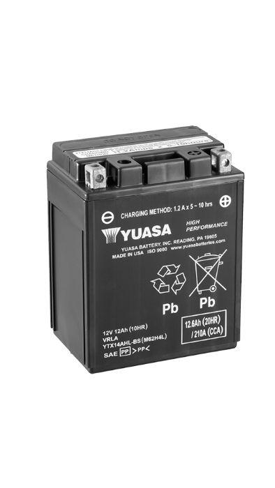 Yuasa YTX14AHL-BS HPMF (AGM) 12Ah 210A 12V P+ CP Wrocław - image 1