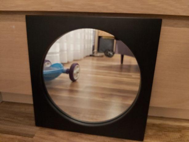 Lustro czarne 29 cm x 29 cm x 1.7 cm