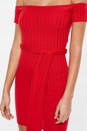 Nowa sukienka prążki PRETTY LITTLE THING xs s