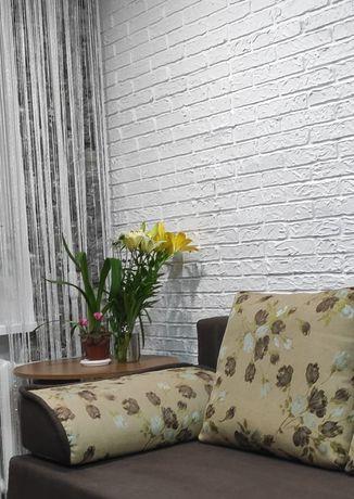 Имитация (лепка) кирпича на стене