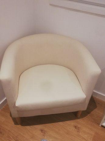 Poltrona IKEA bege