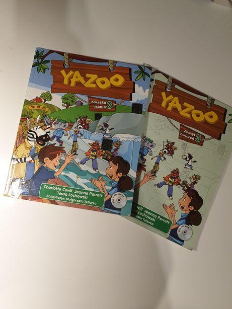 YAZZO 3 podręcznik + ćwiczenia do angielskiego