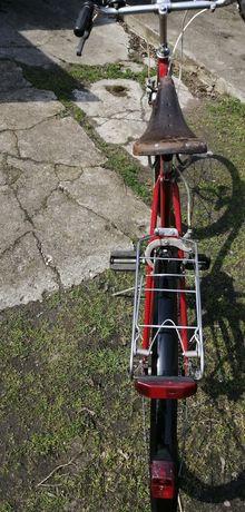 Rower męski czerwony