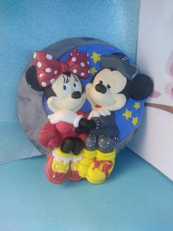 Quadro Mickey e Minnie