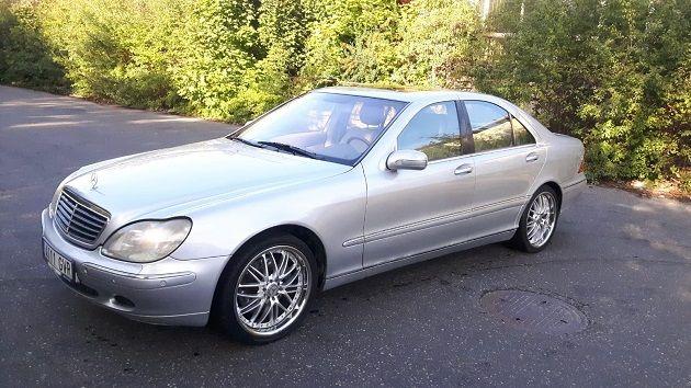 Mercedes S500 Pełna Opcja Zamiana