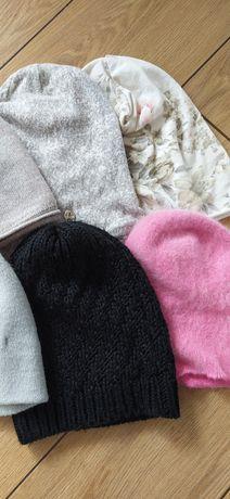 Zestaw 6 czapek damskich jesień/ zima