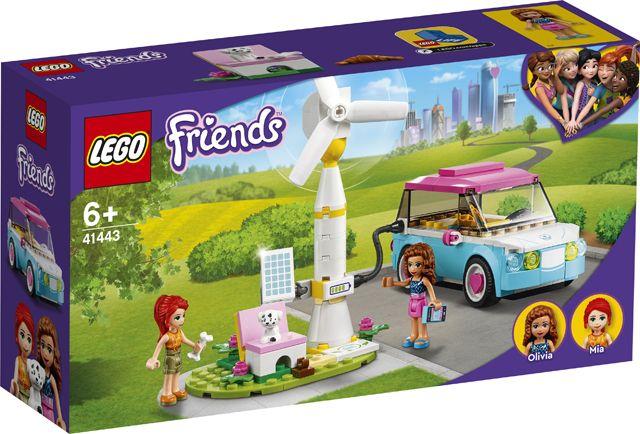 Lego 41443 Friends - Carro Elétrico da Olivia - NOVO