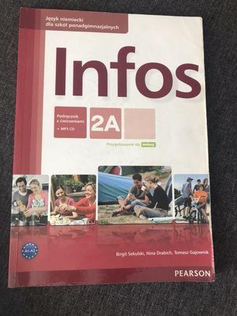 Infos 1A podręcznik i 1 zeszyt ćwiczeń