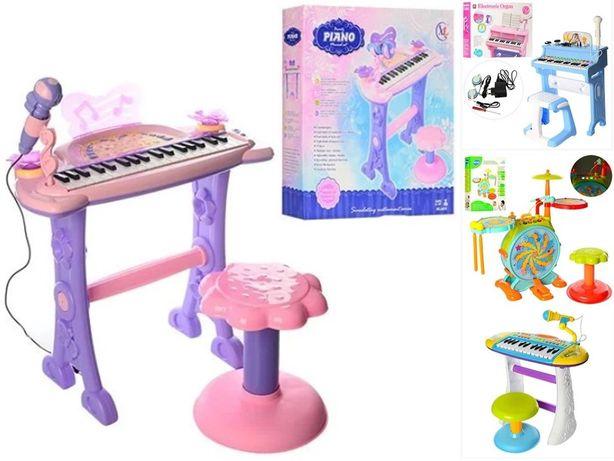 Синтезатор детский Пианино Подсветка Запись Микрофон нов отличный