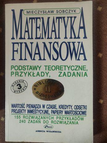Matematyka finansowa - Sobczak