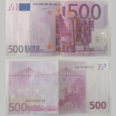 Nota 500€ para colecção verdadeira
