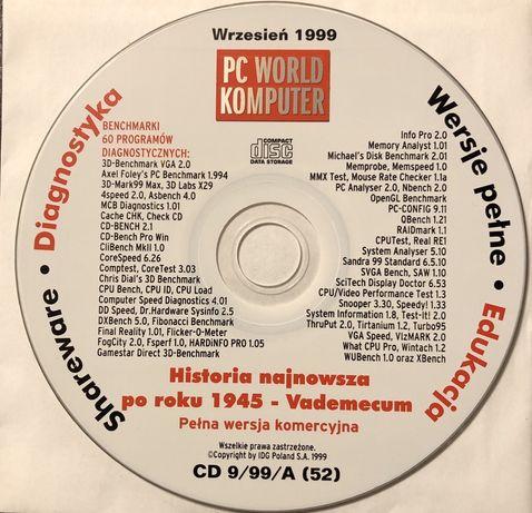 Płyta CD z czasopisma PC World Komputer 09/1999