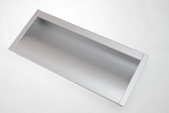 Uchwyt meblowy wpy-316 wpuszczany prostokątny aluminium 160/128 GTV