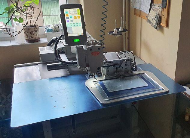 Automat szwalniczy do szycia wzorów, pole 35x25 cm, nowy, BRUTTO