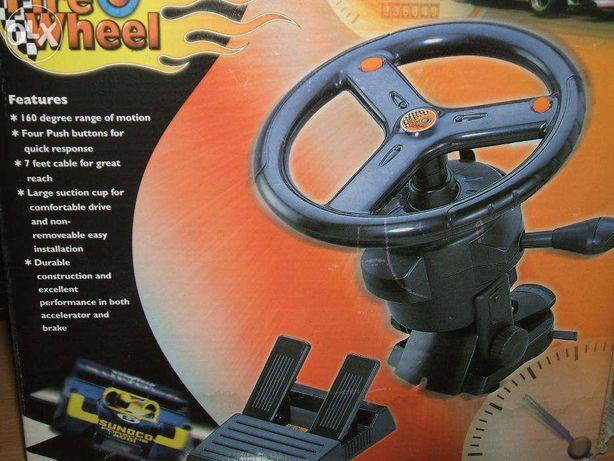 Игровой руль и педали джойстик манипулятор Fire Wheel
