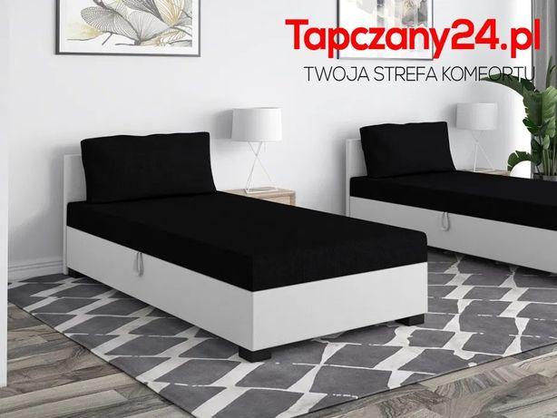 Łóżko młodzieżowe Tapczan do sypialni Poduszka Materac Pojemnik GRATIS