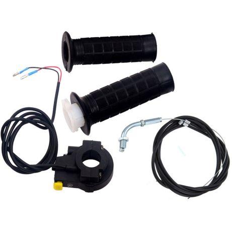kit de punhos para bicicleta com motor de combustão