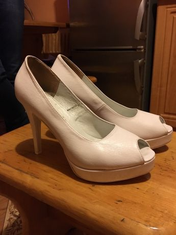 Buty skórzane ślubne rozmiar 40