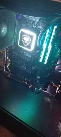 i7 8700k + MSI Z370-A PRO Материнская плата + процессор ТОП КОМПЛЕКТ!!