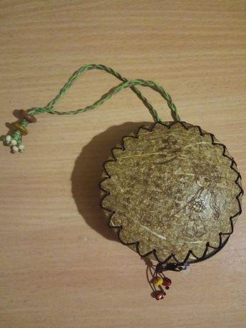 Кошелёк сумочка из кокоса.