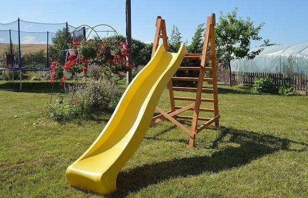 Горка спуск для детей на 1,2 м, 1,8 м, 2,2 м, 3 метра, можно для воды