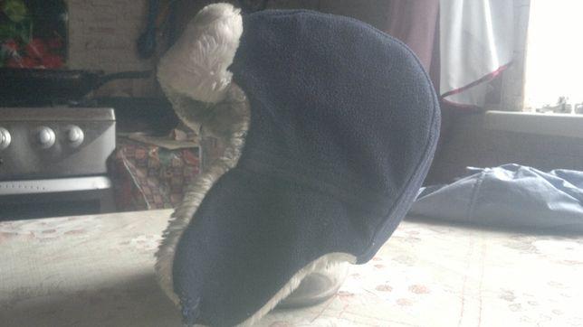 Очень теплая зимняя шапка