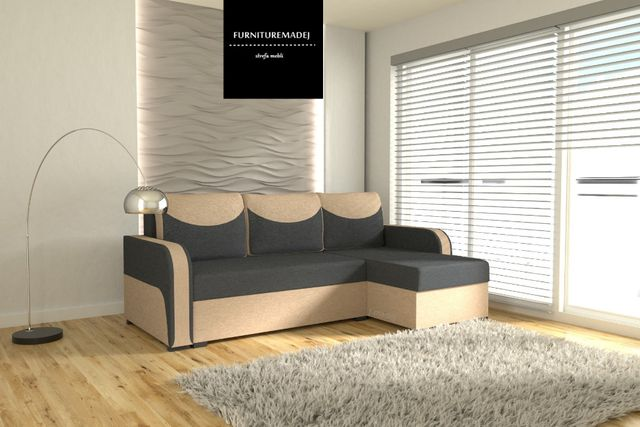 Narożnik, rogówka, sofa rozkładana, łóżko UGO