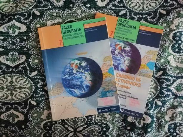 Manuais GEOGRAFIA 7, 8 ano e 9 ano - Fazer Geografia e Espaço Geo