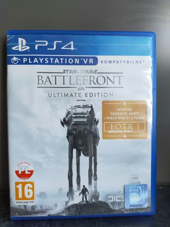 Battlefront ultimate edition PS4, PL, super stan