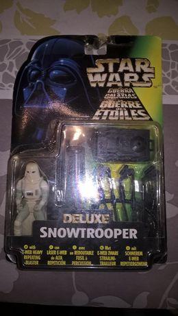 Star Wars Deluxe Snowtrooper Heavy Blaster 1997 Kenner NOVO