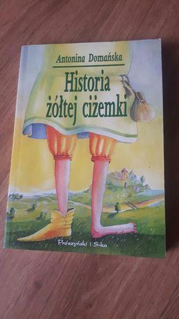 Historia żółtej  ciżemkiI - Antonina Domańska.