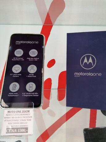 NOWA Motorola One Zoom 2 lata gwarancji sklep Telakces