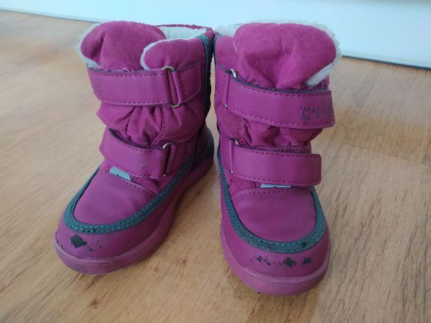 Zimowe buty śniegowce 23