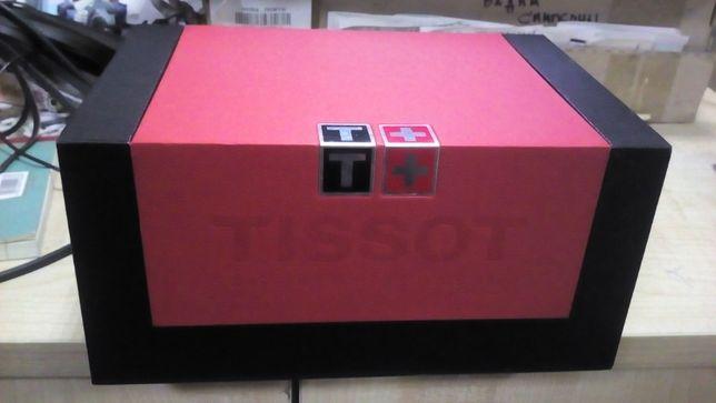 Tissot, коробка от часов Тиссо с документами и мешочком, Оригинал