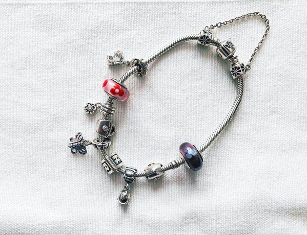 Pandora charms zawieszka Daisy stokrotka