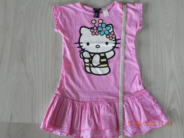 tunika h&m roz.110-116 hello kitty