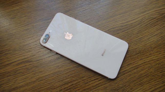 Продам iPhone 8 Plus 64 gb Gold NeverLock Магазин
