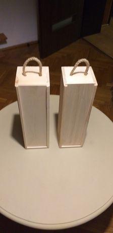 Pudełko drewno na wino