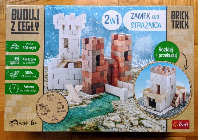 Nowe (zafoliowane) klocki z cegły Brick Trick 2w1 Zamek lub strażnica
